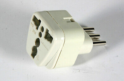Power Plug Adapter - US to Italy (Type L)