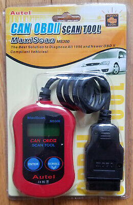 Diagnostic Tools New Ms300 Obdii Obd2 Car Auto Diagnostic Scan Engine Code Reader Maxiscan Ms300 Obd 2 Scanner Ms 300