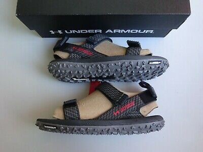 low priced a39d7 2d986 UNDER ARMOUR MEN'S Fat Tire Sandal Anthracite NWT!! 2019