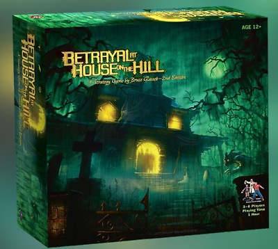 Avalon Hill Betrayal at House on the Hill with Widow's Walk Expansion COMBO
