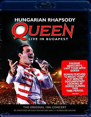 Hungarian Rhapsody: Queen Live in Budapest (1986) New   Blu-ray Region free