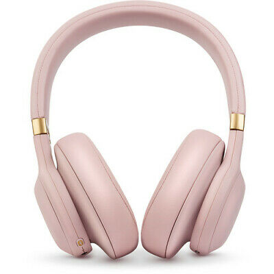 JBL E55BT Quincy Edition Bluetooth Over-Ear Headphones Pink JBLE55BTQEPIK