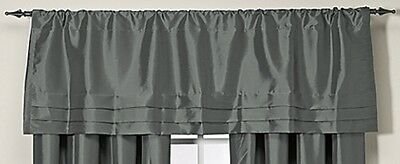 """Argentina Tailored Window Curtain Valance in Peacock 54"""" x 18"""""""