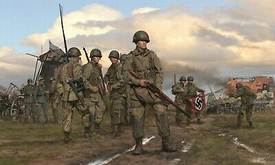 The Spoils of War - 101st Airborne, Band of Brothers commanded by Dick Winters