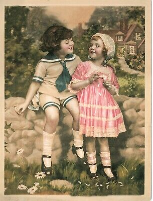 Pack of 8 Victorian Trading Co Birth of Harrison Fisher Baby Blank Note Cards