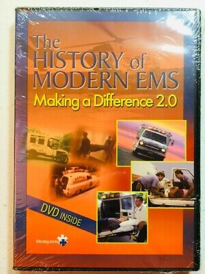 The History of Modern EMS ~ Making A Difference 2.0 (DVD) Documentary RARE NEW!