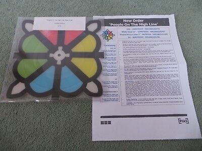 """NEW ORDER - People On The High Line(UK 2016 SEALED 7"""" PICTURE DISC VINYL!!!)"""