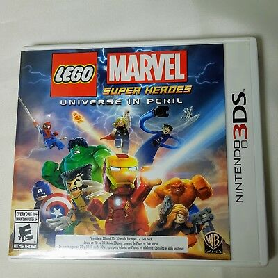 LEGO Marvel Super Heroes - Universe in Peril (Nintendo 3DS, 2013) Complete