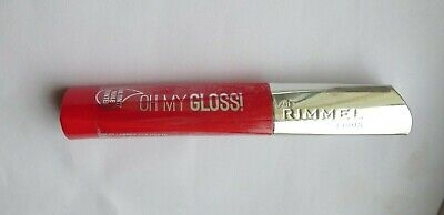 Rimmel Lipgloss Oh My Gloss 6.5ml POP POPPY 500 NEW AND SEALED (2676)