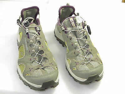 GR8! Salomon Women Techam Phibian 3 Graphic Hike.water,trail easy pull 7M $100