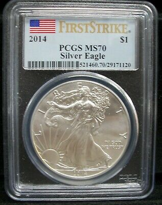 2014 American Eagle First Strike PCGS MS70