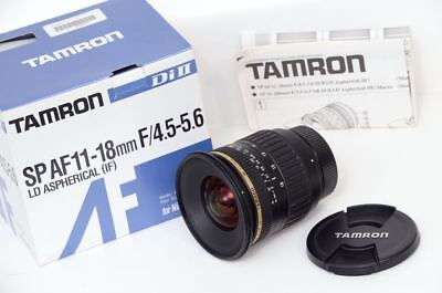 EXCELLENT, Boxed Tamron 11-18mm Wide-Angle Zoom Lens for Nikon DX - SHARP!