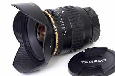 BEAUTIFUL Tamron 11-18mm Wide-Angle Zoom Lens for Nikon DX-Format Cameras