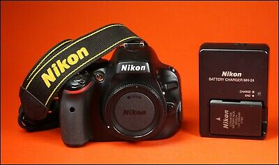 Nikon D5100 Digital 16.2MP SLR Camera Sold With Battery, & Charger, & Strap