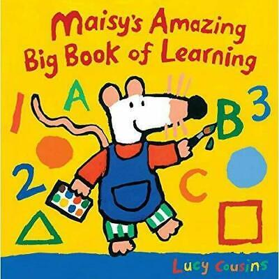 Maisy's Amazing Big Book of Learning by Lucy Cousins - Board book New