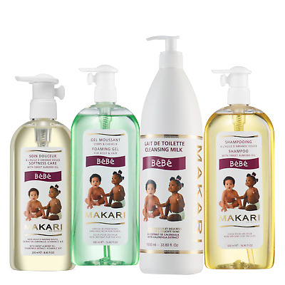 Makari Baby Bath Time Essentials Kit