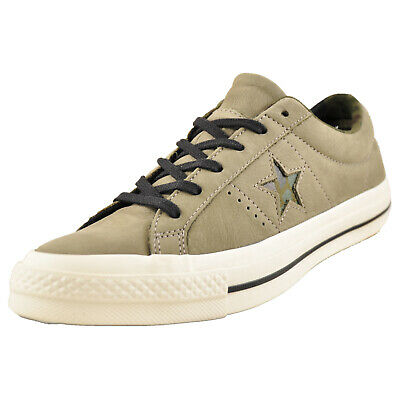 8e993d2235bc Converse Chuck Taylor One Star Ox Uni Classic Leather Casual Plimsol  Trainers