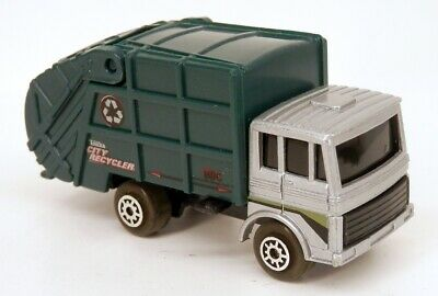 Maisto Tonka Disposal Truck Silver COE Style Refuse/Garbage 1/64 Scale Diecast
