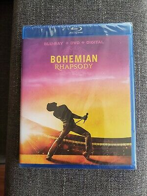 Bohemian Rhapsody Blu-Ray + Dvd **NOT DIGITAL CODE**