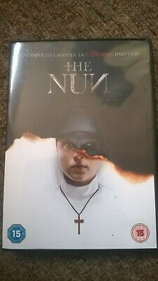 The Nun dvd,movie 2019. brand new,unwatched.