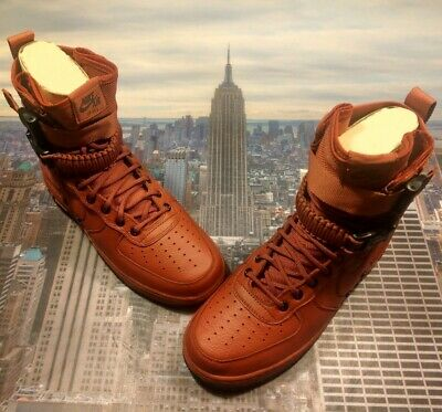 size 40 cc6ce acd80 Nike Womens SF AF1 Special Field Air Force 1 High Cedar Size 11 857872 600  New