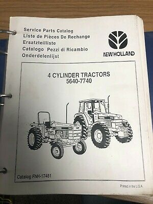 FORD NEW HOLLAND Powerstar 5640, 6640, & 7740 Tractor Parts