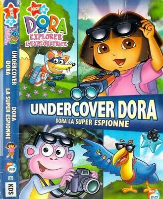 Dora the Explorer - Undercover Dora (DVD, 2008, Canadian)