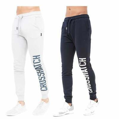Crosshatch Mens Opengate New Track Suit Bottoms Sweat Pant Jogger Bottoms BNWT