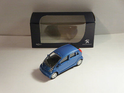 Norev Minijet 1:64 Peugeot Ion blue Brand new. 3 inches