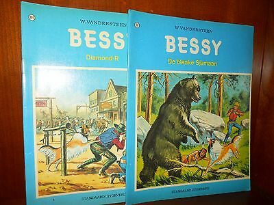 2 oud strip door willy vandersteen Bessy 107 en 101