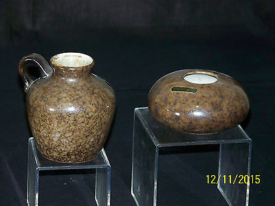 Ceramano West German Art Pottery Mid-Century Signed & #'d Vase