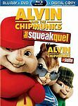 Alvin and the Chipmunks: The Squeakquel (Blu-ray/DVD, 2010, 2-Disc Set, )