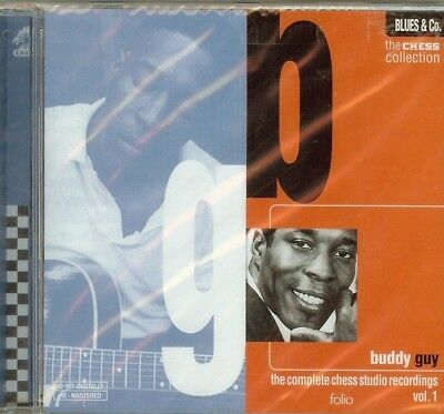 BUDDY GUY - The Complete Chess Studio Recordings, Vol. 1 - CD - NEW -  SEALED