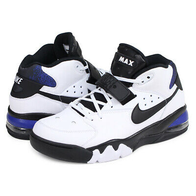 check out e671d bfd53 Nike Air Force Max 93 WHITE COBALT BLUE BLACK CHARLES BARKLEY AH5534-100  Men s
