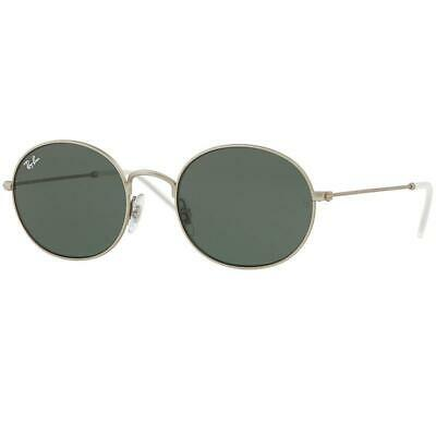 f6ef10bf45671 RAY-BAN BEAT SUNGLASSES Rb3594 911671 Silver Frame green Classic ...