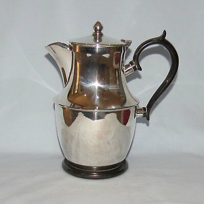 high quality CRUSADER EPNS A1 SILVERPLATE BAKELITE HANDLE WATER POT