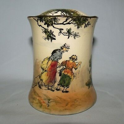 ROYAL DOULTON OLD ENGLISH SCENES THE GLEANERS HAIR TIDY very scarce