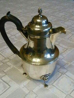 Antique England Sterling Hot Water or pitcher Chocolate Pot