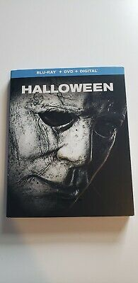 HALLOWEEN 2018 (BLU-RAY ONLY 2018) Case+Artwork INCLUDED.