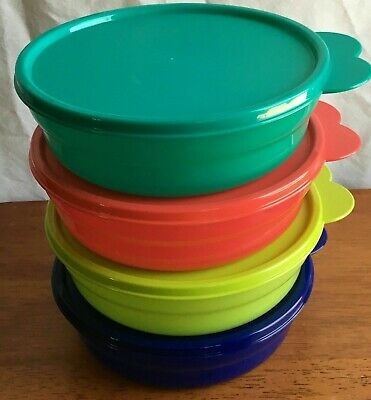 Tupperware Microwave Reheatable Cereal Bowls - NEW