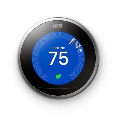 NB Nest 3rd Generation Learning Programmable Thermostat
