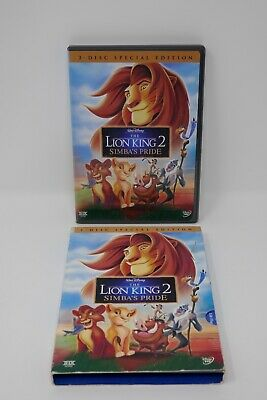Walt Disney The Lion King 2: Simbas Pride(DVD, 2004, 2-Disc Special Edition Set)