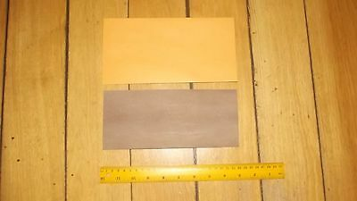 KANGAROO TAIL VEG TANNED NATURAL 1 @ 230 x 100 mm strop band pouch tag