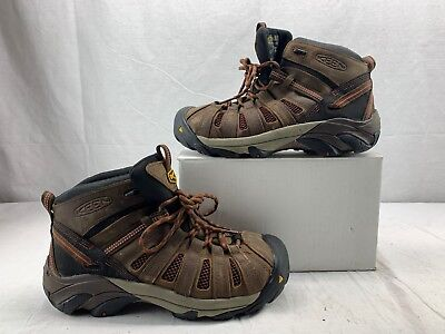 86b3874abf7 WOLVERINE MEN'S SIZE 8 Dark Brown/ Black Hudson ST EH Mid Hiking ...