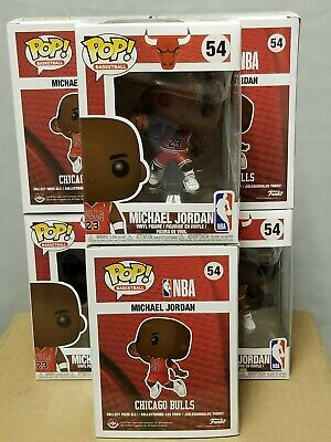 Funko Pop Michael Jordan NBA #54 Chicago Bulls MINT IN HAND Ships Immediately!