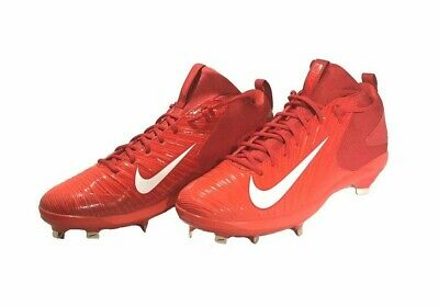 classic fit 08aec 447dc NEW Nike Max Air Mike Trout 3 Pro Red Baseball Cleats Mens Size 13