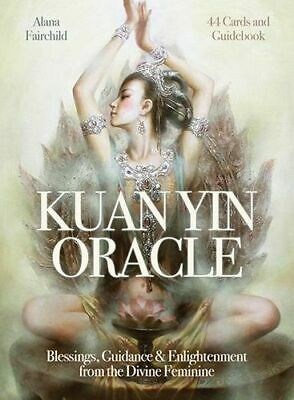 NEW Kuan Yin Oracle Cards By Alana Fairchild Card or Card Deck Free Shipping
