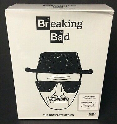 Breaking Bad: The Complete Series (2016 Ed.) DVD Box Set Brand New Never Opened!