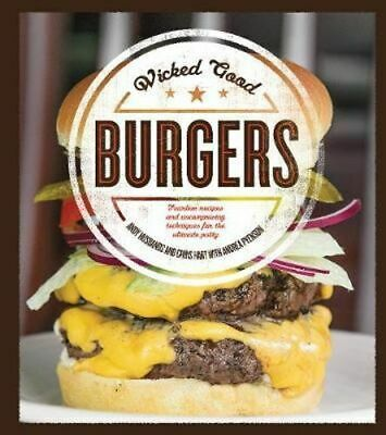 NEW Wicked Good Burgers By Andy Husbands Paperback Free Shipping