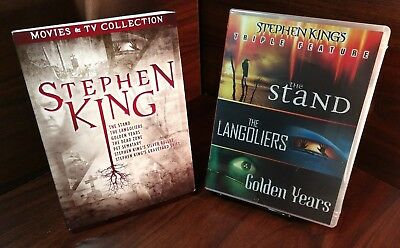 Stephen King TV and Film Collection(DVD,7 Movies-9 Discs)w/Slipcover-FreeS&H-NEW